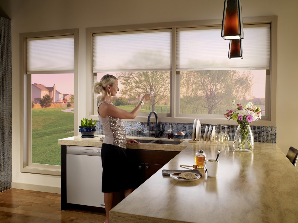Motorized Shades by Lutron: An Easy, Affordable One-Touch Solution