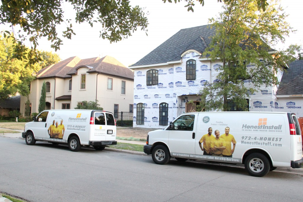 Low Voltage Prewire/Prewired/Prewiring Dallas Home Wire Concealment